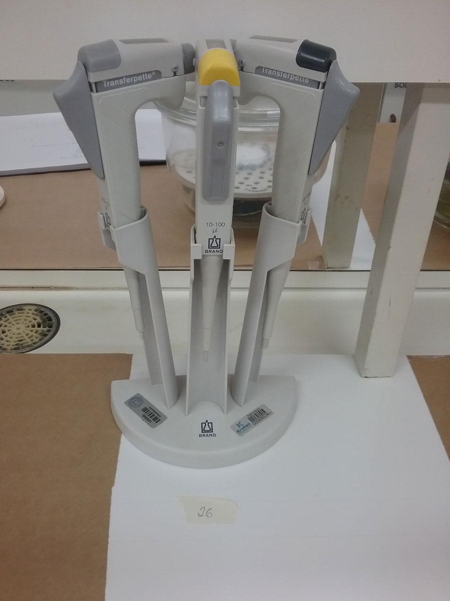 Micropipeta 0,5-10 - 10-100 - 100-1000U