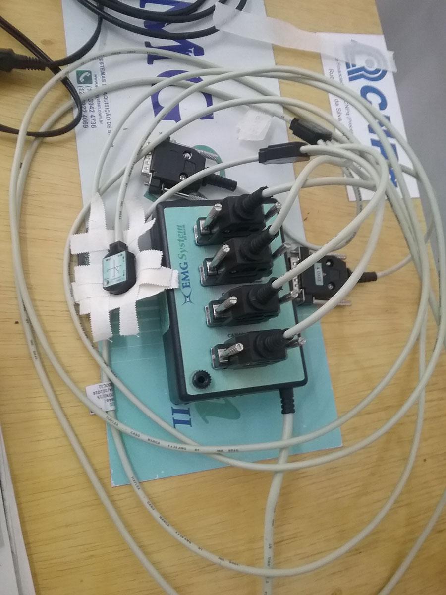 Acelerometro sistema de aquisição de sinais 4 canais